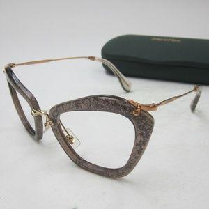 51cb389cde53 Miu Miu Accessories - Frame Only Miu Miu SMU 10N Sunglasses Italy OLE155